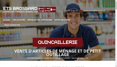 Site internet de Etablissements Andre Brossard