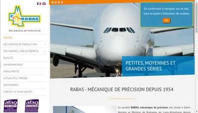 Site internet de Rabas