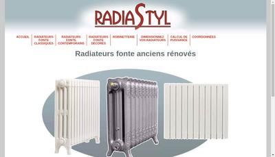 Site internet de Radiastyl
