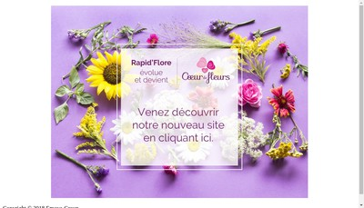 Site internet de Rapid'Flore
