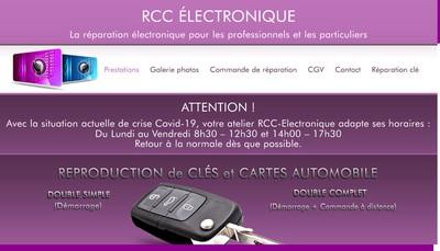 Site internet de Reparation Cle Carte