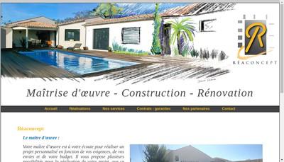 Site internet de Reaconcept