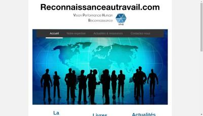 Site internet de Vision Performance Humain Reconnaissance