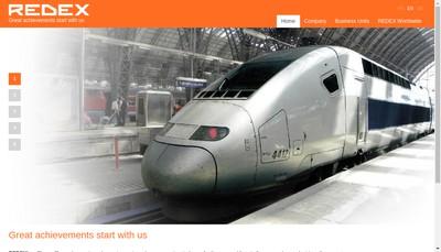 Site internet de SA Redex