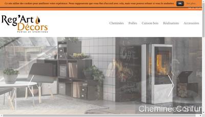 Site internet de SARL Reg Art Decors