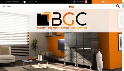 Site internet de Bgc Porte de la Dombes