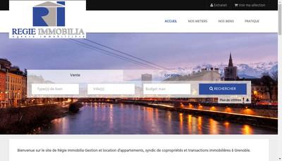 Site internet de Societe Regie Immobilia SARL