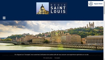 Site internet de Regie Saint Louis