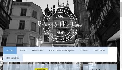 Site internet de Le Relais de Montigny