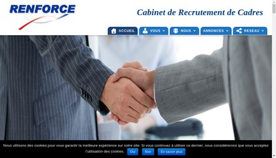 Site internet de Renforce