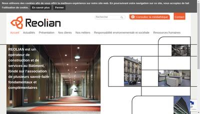 Site internet de Reolian