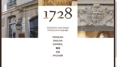 Site internet de Mazin 1728