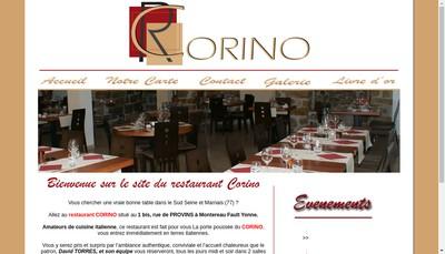 Site internet de Restaurant Pizzeria Corino