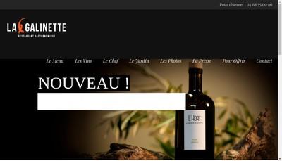Site internet de La Galinette