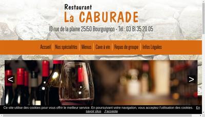 Site internet de La Caburade
