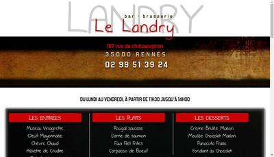 Site internet de Le Landry