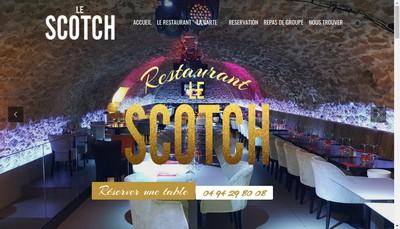 Site internet de Le Scotch