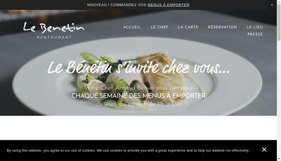 Site internet de Le Benetin