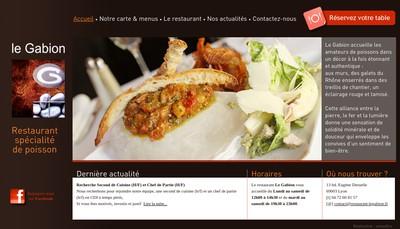 Site internet de Le Gabion