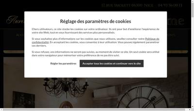 Site internet de Crepes Chics