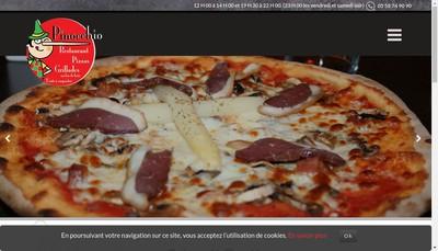 Site internet de Pinocchio