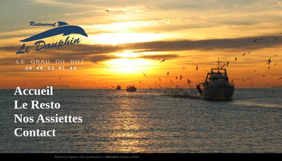 Site internet de Le Dauphin