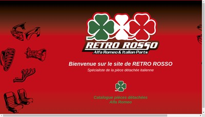 Site internet de Retro Rosso