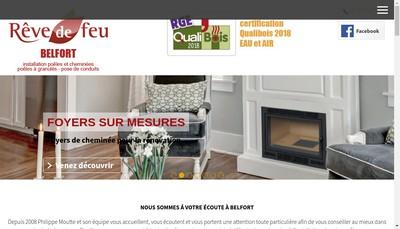 Site internet de Reve de Feu