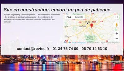 Site internet de Revtec