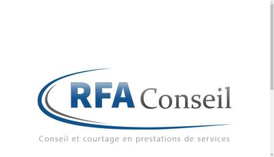Site internet de Rfa Conseil