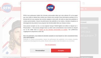 Site internet de Rfm Est