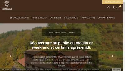 Site internet de Moulin Richard de Bas