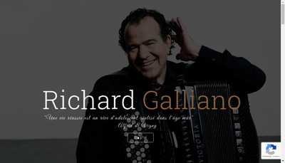 Site internet de Richard Galliano Music