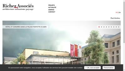 Site internet de Richez Associes Management