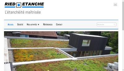 Site internet de Ried Etanche
