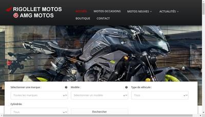 Site internet de Af Rigollet Motos SARL