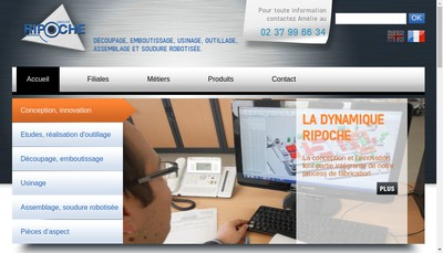 Site internet de Ripoche Industries