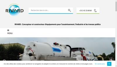 Site internet de Rivard