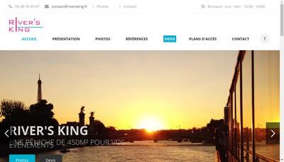 Site internet de River'S King