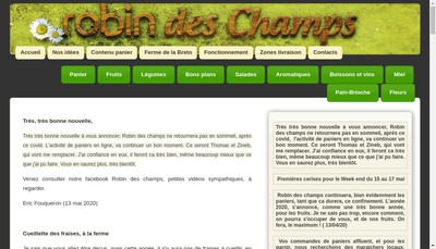 Site internet de Ferme de la Breto