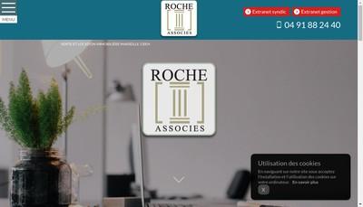 Site internet de Roche & Associes Gest Transac Immob