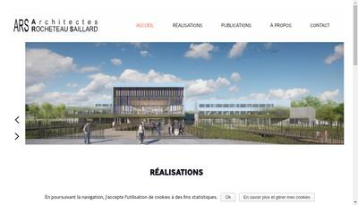 Site internet de Ars Architectes Rocheteau Saillard