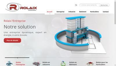Site internet de Rolaix Corporation