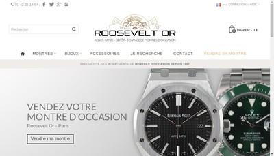Site internet de Roosevelt Or