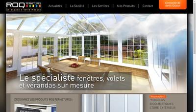Site internet de Roq Fermetures