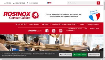 Site internet de Rosinox