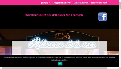 Site internet de La Rotisserie
