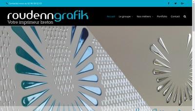Site internet de Groupe Roudenn Grafik