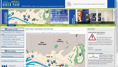 Site internet de Rouen Park