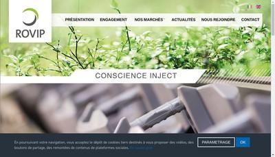 Site internet de Rovip